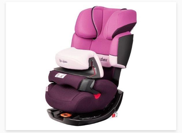 Fotelik samochodowy Cybex Pallas-fix purrple Rain-purple