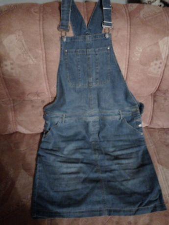 Spódnica jeansowa firmy John Baner