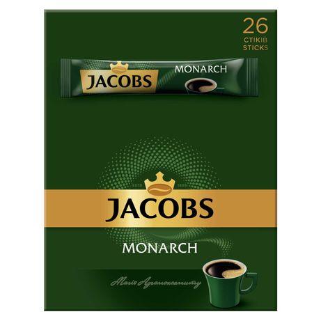 Кофе растворимый Якобс Монарх стик 1,8г x 26 шт, 100% ОРИГИНАЛ