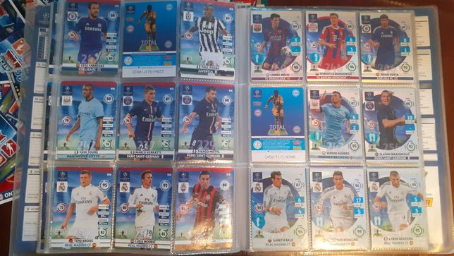 Kolekcja kart piłkarskich (ponad 950 kart)