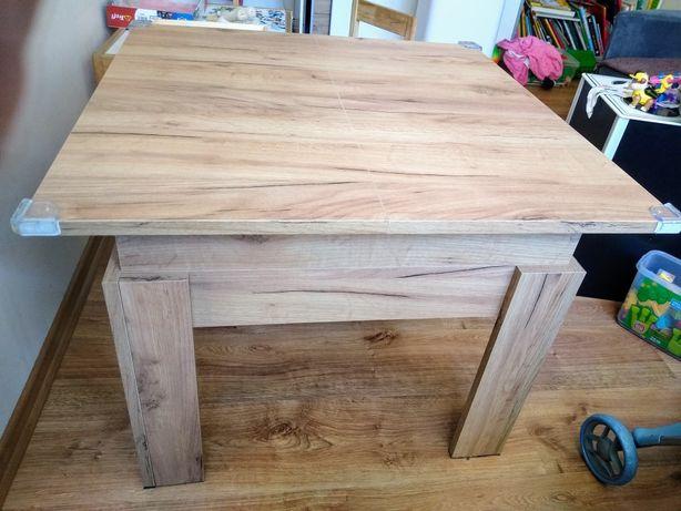 Stół regulowany, rozkładany 75x75