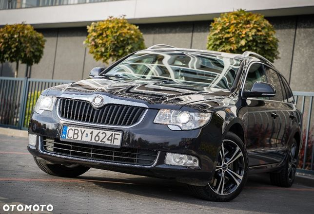 Škoda Superb SKODA SUPERB 3.6 V6 4X4 full opcja LPG