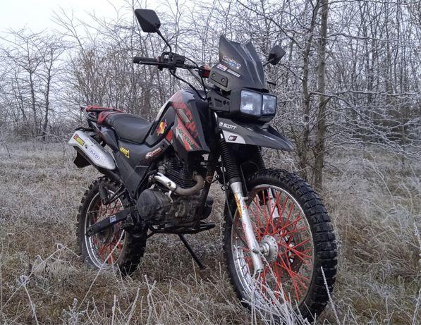 Мотоцикл X-Trail 200 обмен