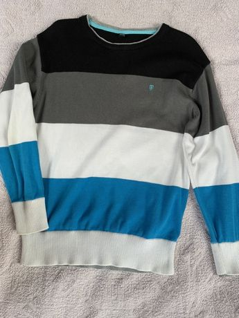 Sweter dla chłopca r. 134  + t shirt