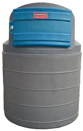 Zbiornik do przechowywania paliw płynnych 1500l w pełni wyposażony