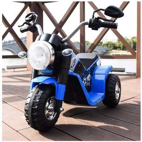 Mota Elétrica Crianças - Clássica Mini Chopper / 6V - Azul