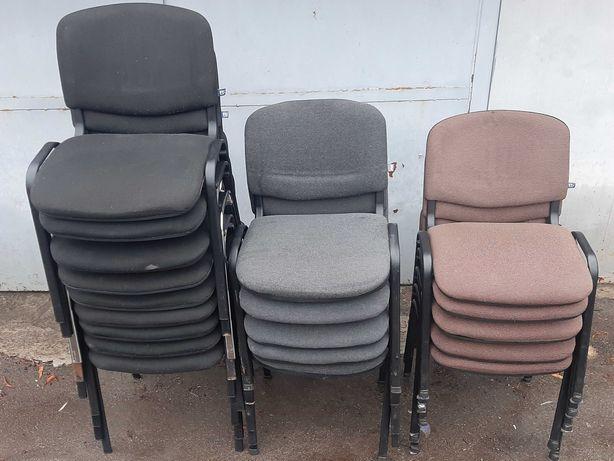 Хорошие тканевые стулья ISO со спинкой