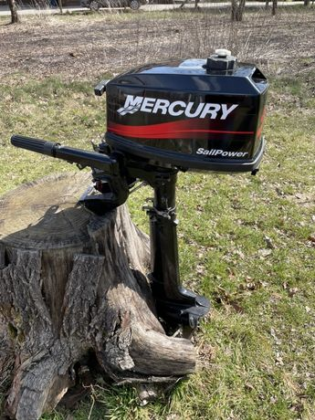 Silnik Zaburtowy Mercury 4KM HP Super Stan Stopa L
