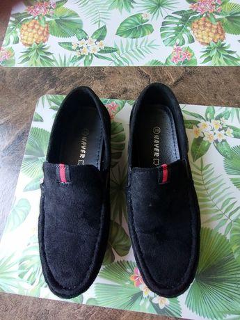 Buty półbuty mokasyny chłopięce komunia wsuwane jak nowe