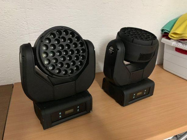 Showtec Expression 5000 LED Wash DMX ADJ light4me RGBW głowa beam