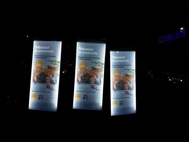 Oryginalna wyjątkowa reklama - plecaki reklamowe, plecak podświetlany!