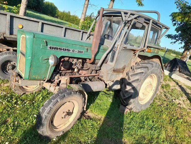 Traktor URSUS 1972r zarejestrowany