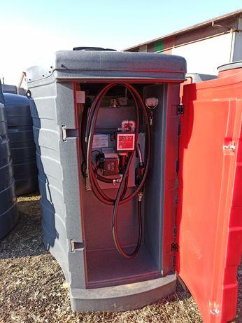 Zbiornik na paliwo ropa olej napędowy - 1500L małe/duże drzwi