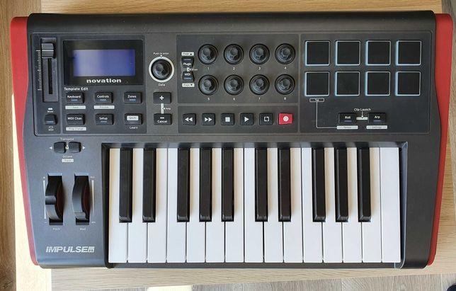 Klawiatura sterująca MIDI || NOVATION IMPULSE 25