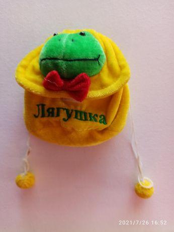 Винтажная сумочка лягушка для ребенка