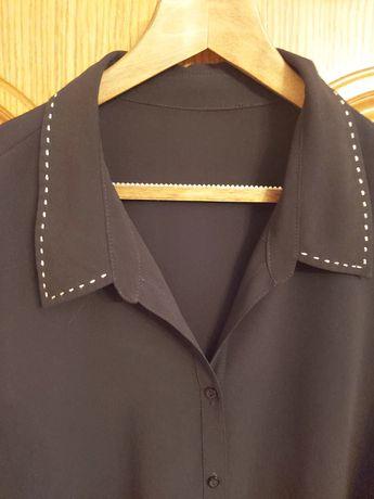 Bluzka czarna rozpinana r.62