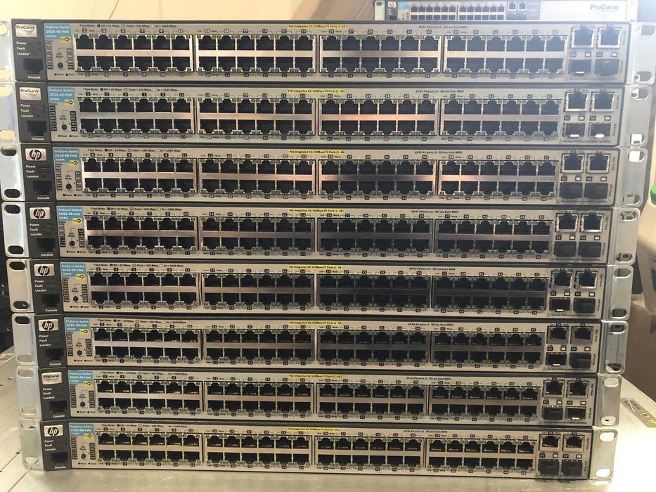 Комутатор HP ProCurve 2610 48 PWR Poe (J9089A) Ивано-Франковск - изображение 1