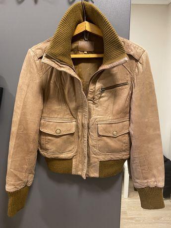 Кожанка кожаная курточка косуха Oasis