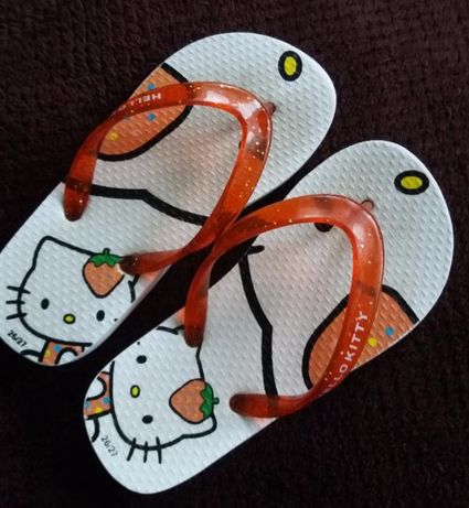 Klapki japonki Hello Kitty 17,5cm