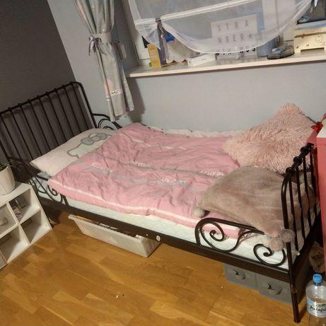 Łóżka Minnen Ikea czarne 1 szt