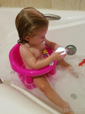 Лучшие стульчики для купания ребенка в ванне