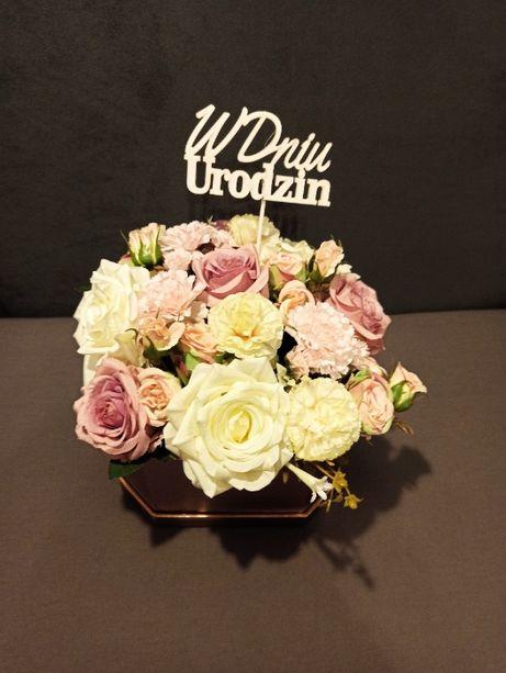 Boxy kwiatowe/ Pomysł na prezent/ Wieczne kwiaty