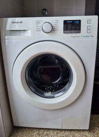 Máquina de lavar roupa Samsung EcoBubble - 7kg - 1200 rpm - Branco