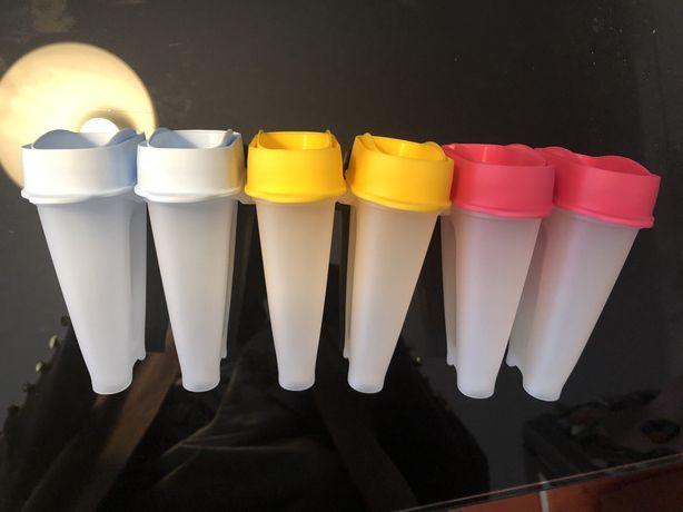 Formas gelados tupperware - Novas