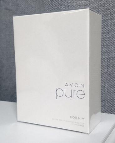 Avon Pure for him 75мл мужская туалетная вода