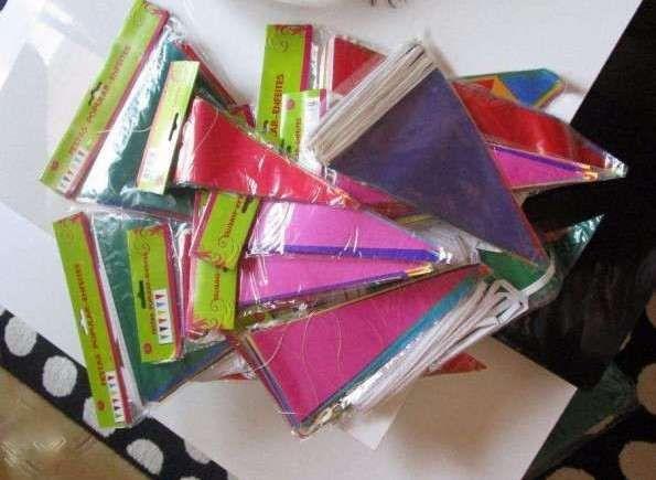 Conjunto - Enfeites /bandeirolas para festas (novos)