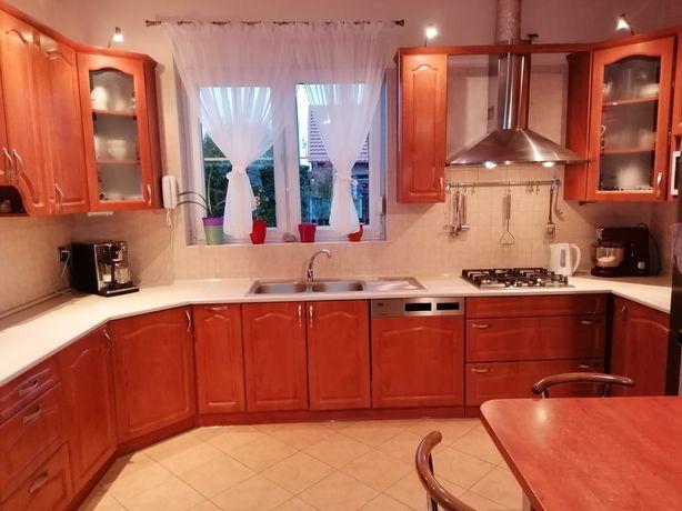 Meble kuchenne, kolor olcha, stan bdb, 350x410x180cm