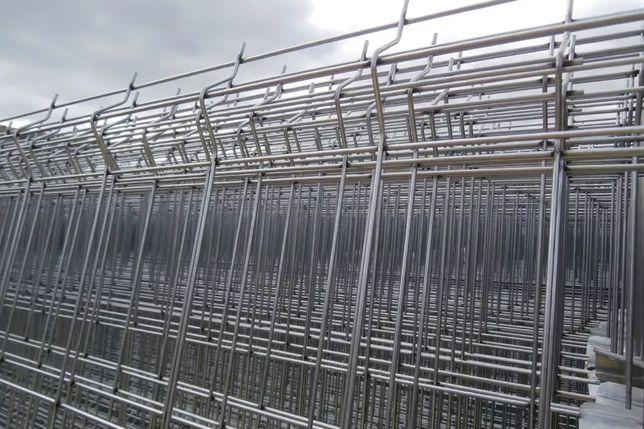 Painel de Rede Vedação Zincada c/ Base de Cimento - Novo