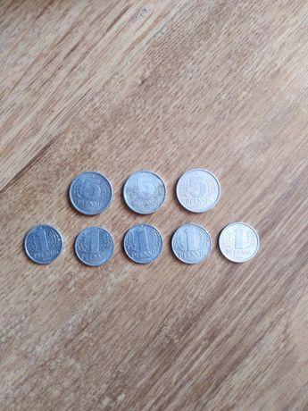 Monety z NRD 1, 5 pfennig.