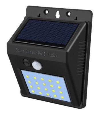 Lampa let solarna z czujnikiem ruchu i zmierzchu