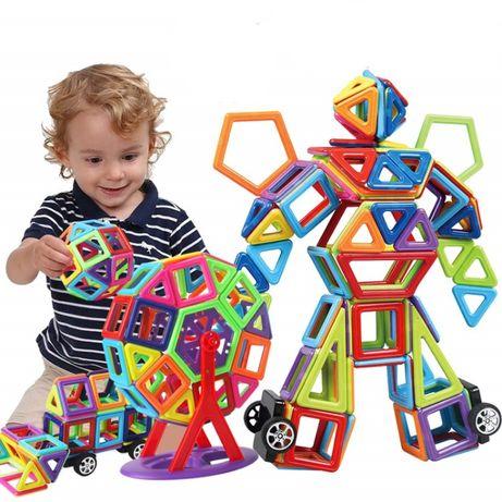 ХИТ!! Магнитный Конструктор для детей 83 дет Развивающая игрушка игра