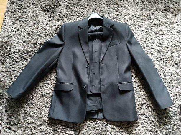 garnitur czarny rozmiar L