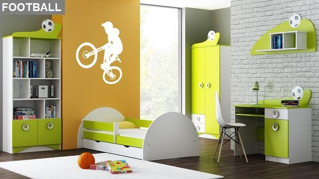 Zestaw B FOOTBALL z łóżkiem meble dla dzieci