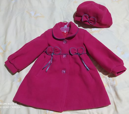 Пальто з біретиком