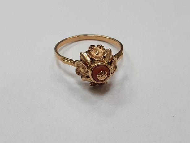 Retro! Piękny złoty pierścionek/ Radzieckie 583/ 2.62 gram/ R14