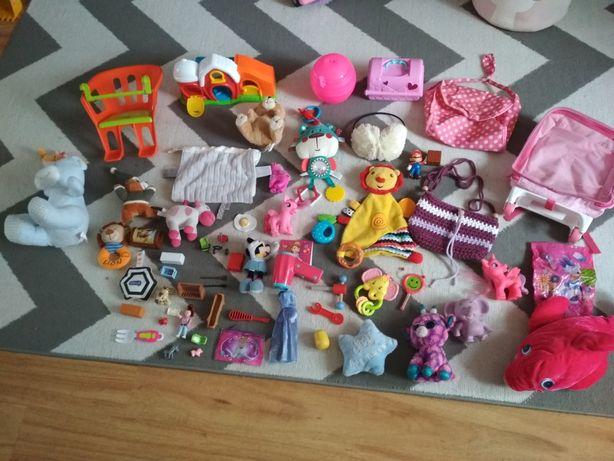 Zabawki duza ilość torebki plecaki play mobile domek klocki koniki
