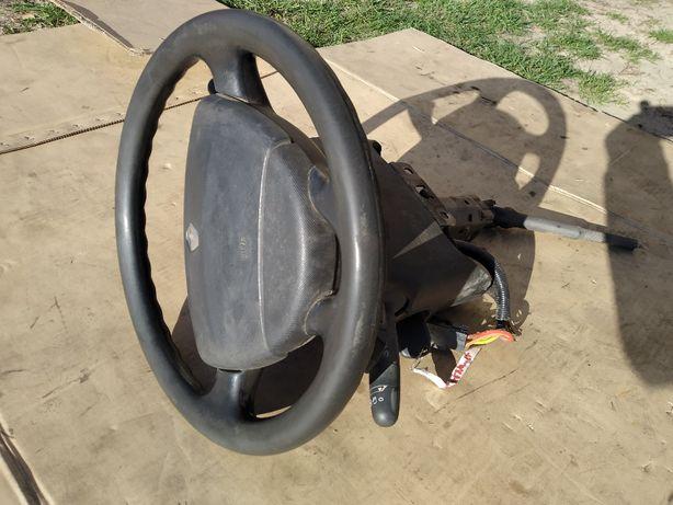 руль гитара переключатель подушка airbag колонка рено трафик trafic