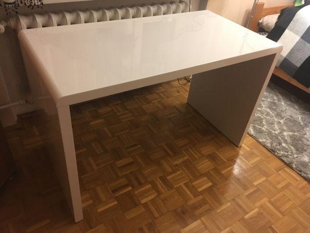 Biurko białe nowoczesne stylowe połysk minimalizm AG Guenther