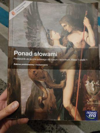 """""""Ponad słowami"""" podręcznik do języka polskiego dla liceum i technikum"""