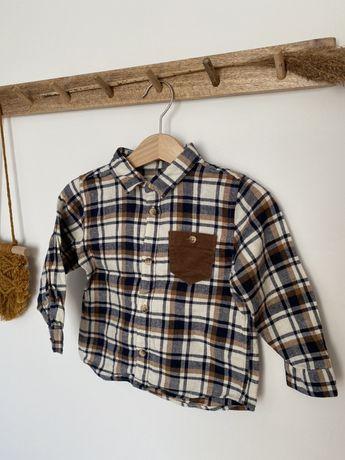 Chłopięca koszula w kratkę ZARA