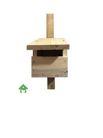 Budka lęgowa dla ptaków półotwata typ P kopciuszek