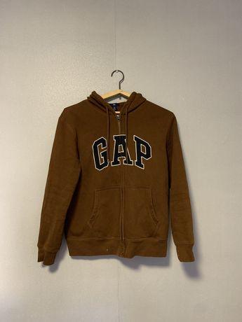 Худи gap vintage коричневый (brown)