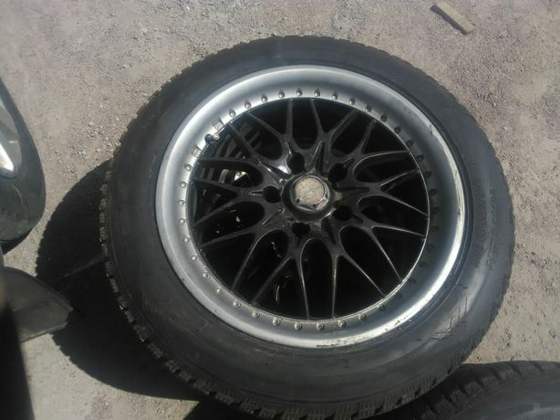 Продам диски з зимньою резиною,стояли на BMW-e39
