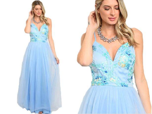suknia koktajlowa ślubna wieczorowa druhna wesele 36 S, 38 M, 40 L