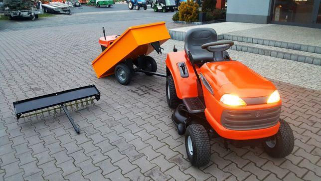 Kosiarka samojezdna Traktorek Husqvarna CTH 191 osprzęt od TRAK-TOM