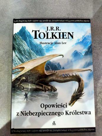 Opowieści z Niebezpiecznego Królestwa Tolkiena Amber - twarda oprawa